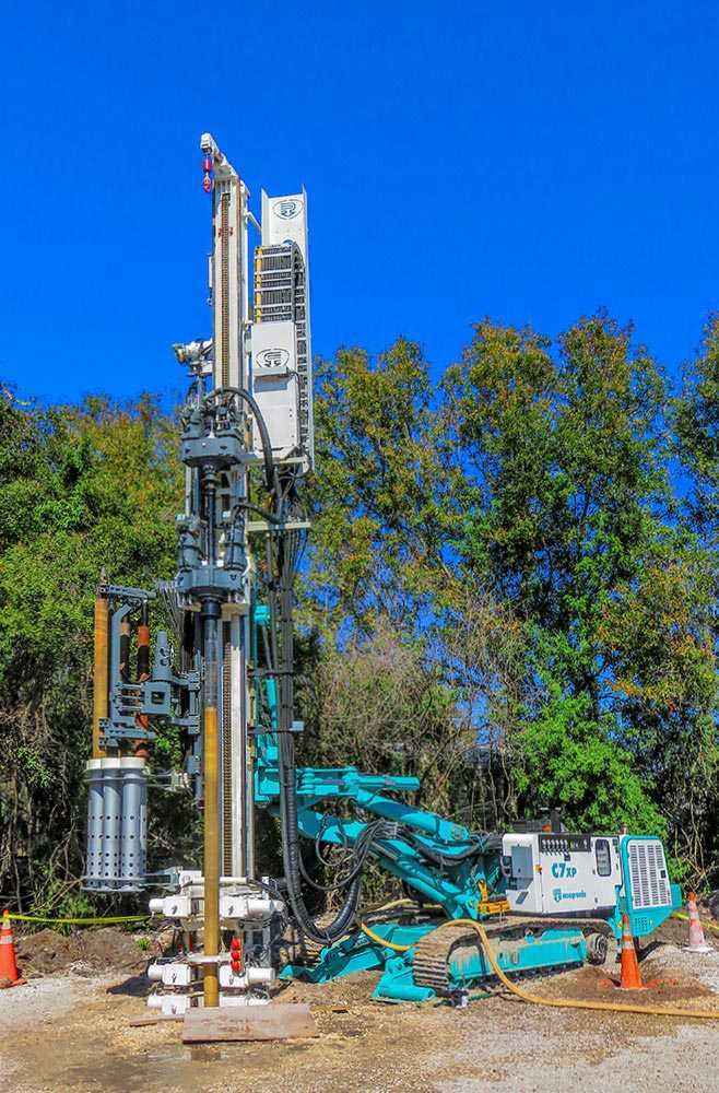 Casagrande C7 XP-2 - Crawler drilling rig