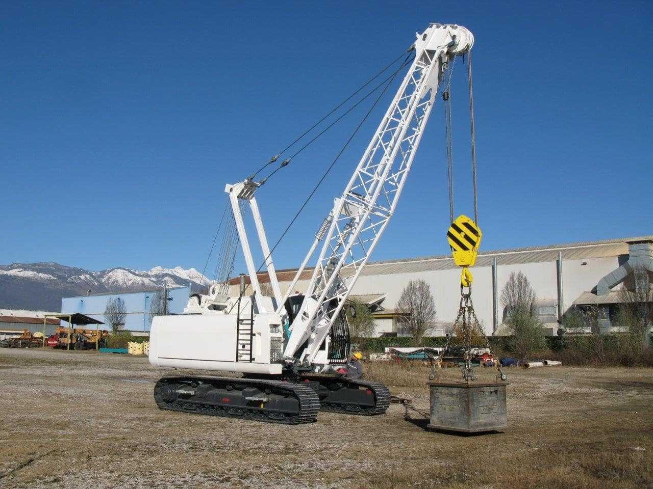 Crawler Cranes - C400 XP - Casagrande